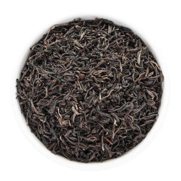 Black tea in bowl