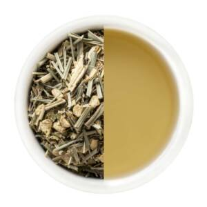 Lemongrass and ginger pink tea
