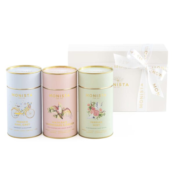 French Earl Grey, Lemongrass and Ginger and Camomile Loose Leaf Tea