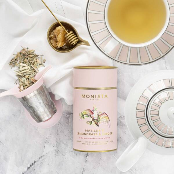 tea for one with Matilda's lemongrass and ginger