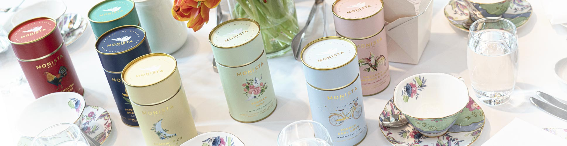Monista Canisters at the 'Art of Tea'
