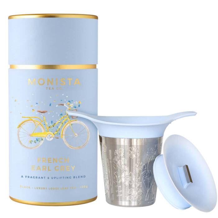 Tea canister with infuser
